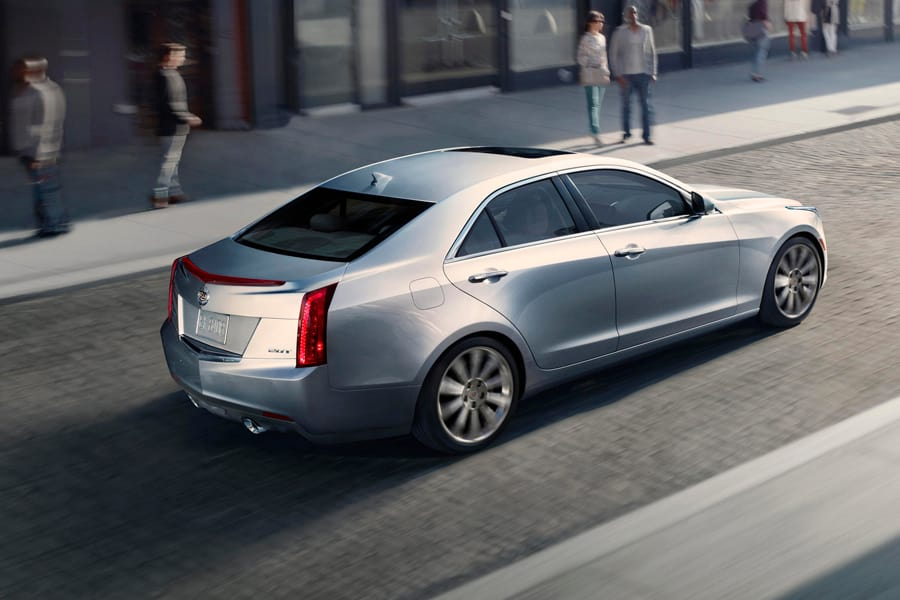 how to change cadillac ats language