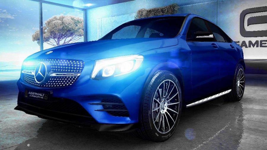 A8 Mercedes-Benz GLC Coupe