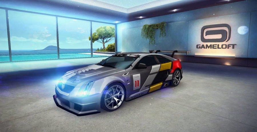 A8 Cadillac CTS-V Coupe Race Car