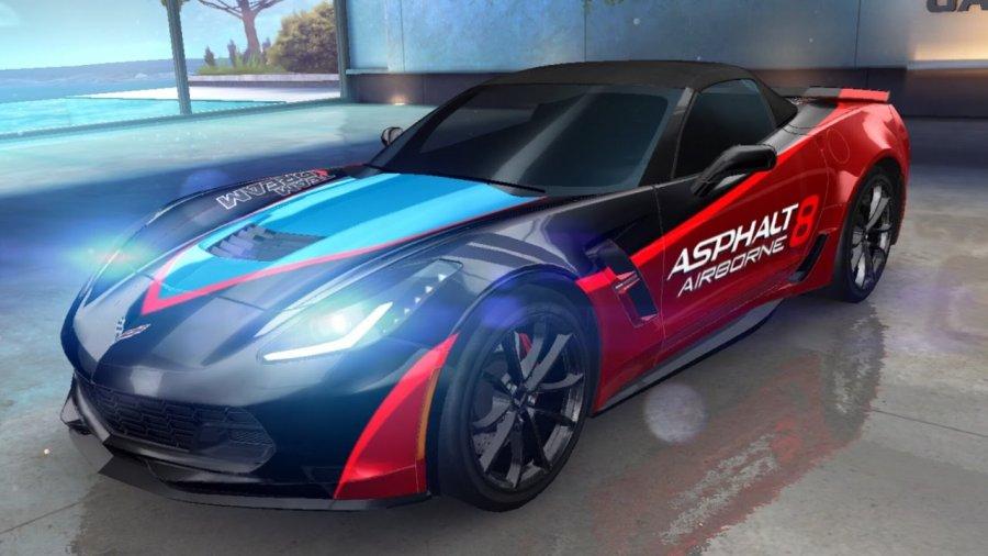 A8 Chevrolet Corvette Grand Sport