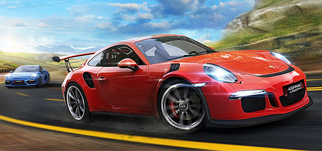 A8 Porsche 911 GT3 RS