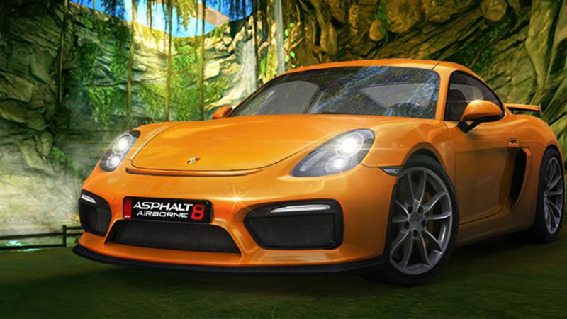 A8 Porsche Cayman GT4