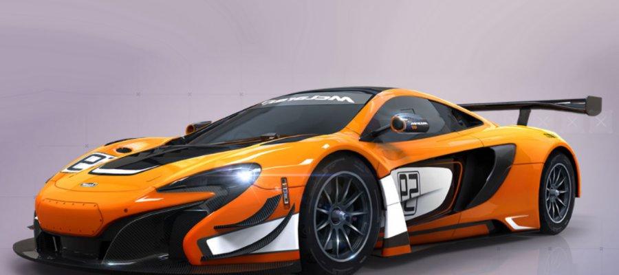 A8 McLaren 650S GT3