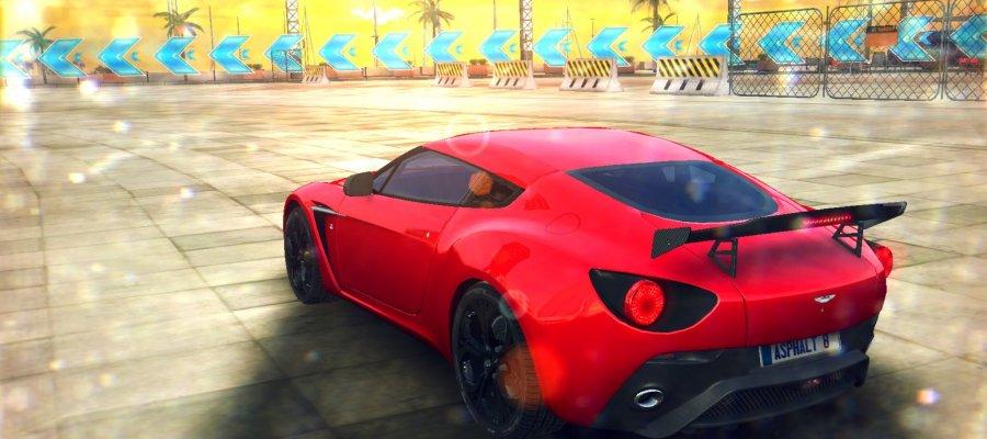 A8 Aston Martin V12 Zagato
