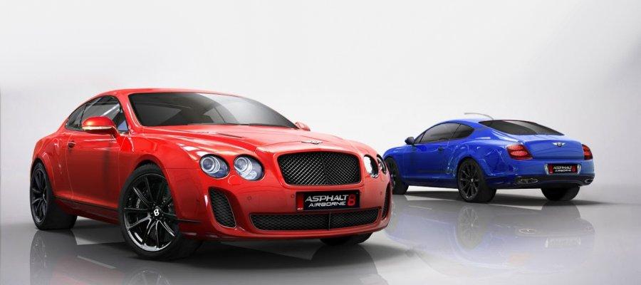 A8 Bentley Continental Supersport