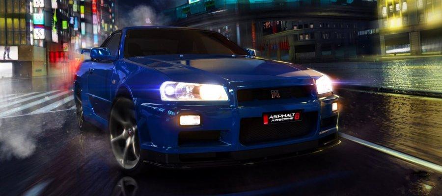 A8 Nissan Skyline GT-R (R34)