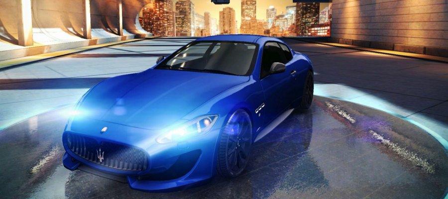 A8 Maserati GranTurismo Sport