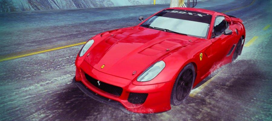 A8 Ferrari 599XX