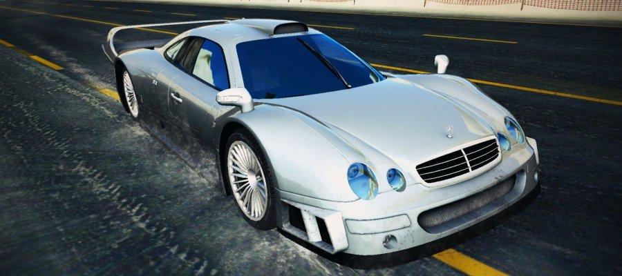 A8 Mercedes-Benz CLK GTR AMG