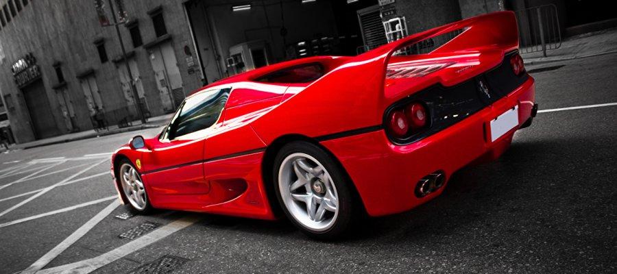 A8 Ferrari F50