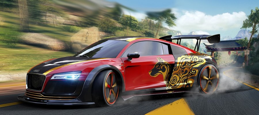 Audi R8 E Tron Special Edition онлайн прокачка тюнинг A8tune
