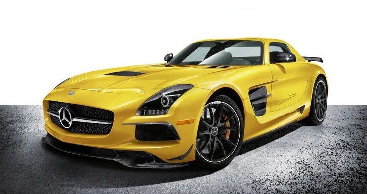 A8 Mercedes-Benz SLS AMG Coupe Black Series