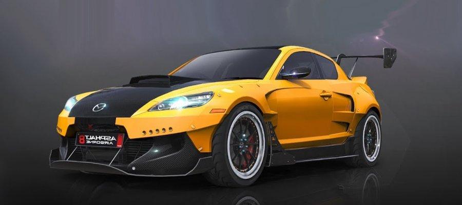 A8 Mazda RX8 Special Edition
