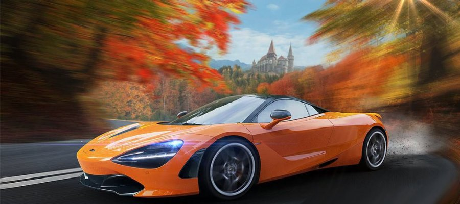 A8 McLaren 720S