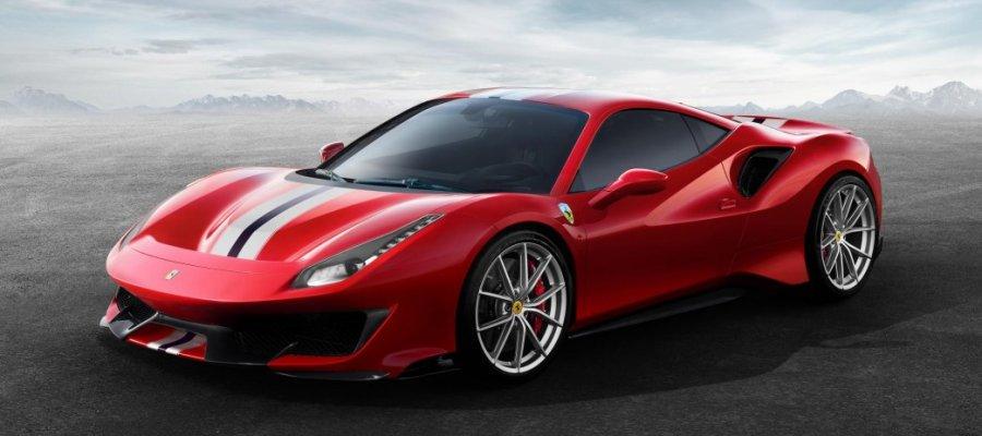 A8 Ferrari 488 Pista