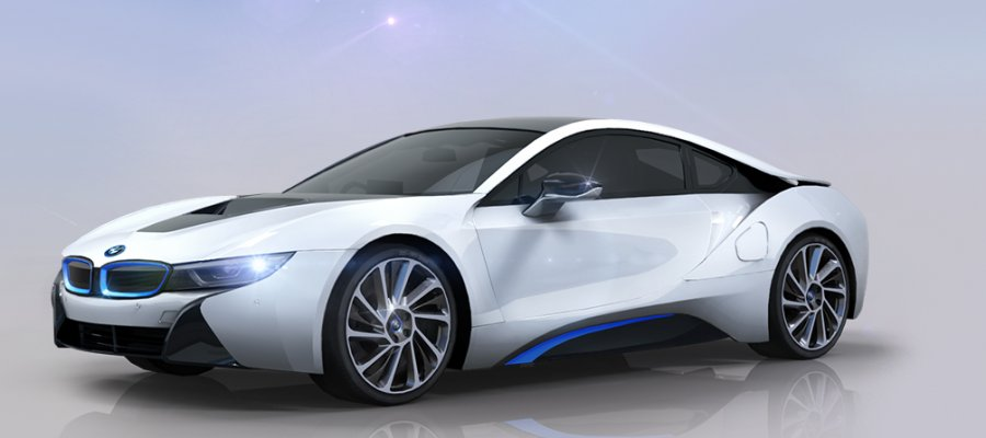 A8 BMW i8 Coupe