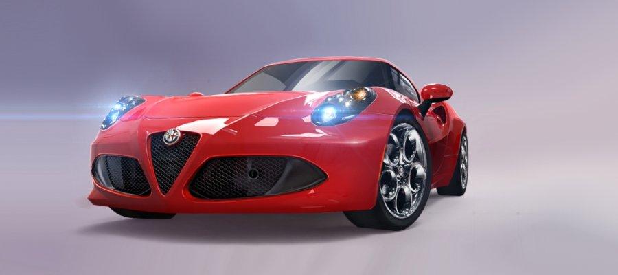 A8 Alfa Romeo 4C